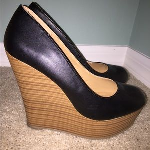 Brand new- Call It Spring- Brown Wedges Size 8